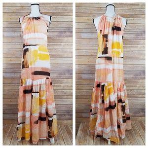 Lane Bryant 14/16 14 16 Abstract Maxi Dress